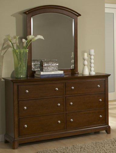 Legacy Classic Impressions Dresser - Classic Clear Cherry-0