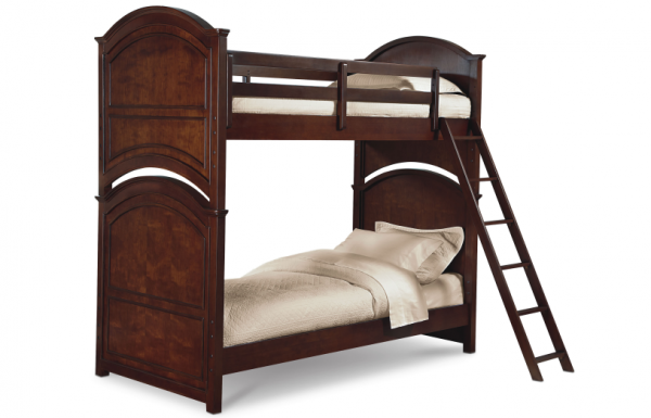 Legacy Classic 4 Pc. Impressions Twin over Twin Bunk Bedroom Set - Classic Clear Cherry-0