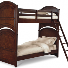Legacy Classic Impressions Twin over Twin Bunk Bed - Classic Clear Cherry-0