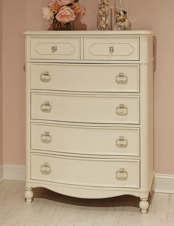 Legacy Classic Harmony by Wendy Bellissimo Drawer Chest - Antique Linen White-0
