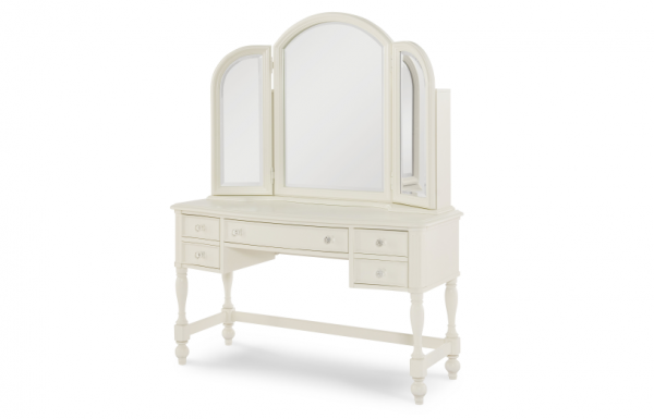 Legacy Classic Harmony by Wendy Bellissimo Vanity Mirror - Antique Linen White-468