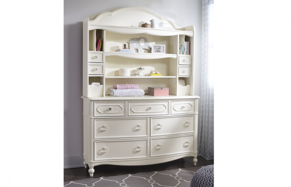 Legacy Classic Harmony by Wendy Bellissimo Bookcase/Hutch - Antique Linen White-460