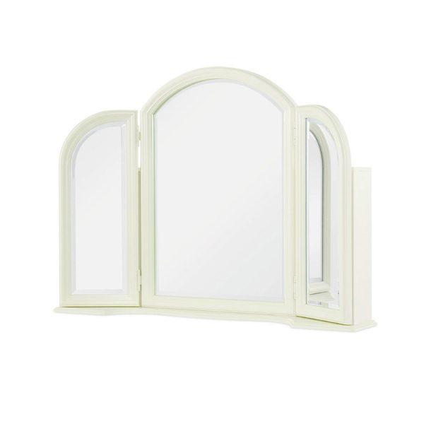 Legacy Classic Harmony by Wendy Bellissimo Vanity Mirror - Antique Linen White-0