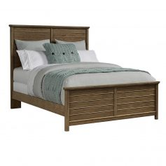 Driftwood Park - Queen Panel Bed-0