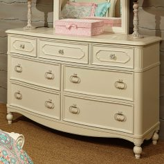 Legacy Classic Kids Harmony 7 Drawer Dresser in Antique Linen White-0