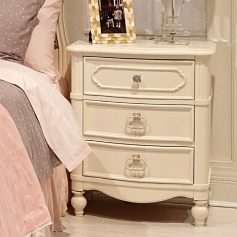 Legacy Classic Kids Harmony Night Stand in Antique Linen White-0