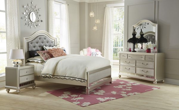 Lil Diva Twin Bedroom Group-0