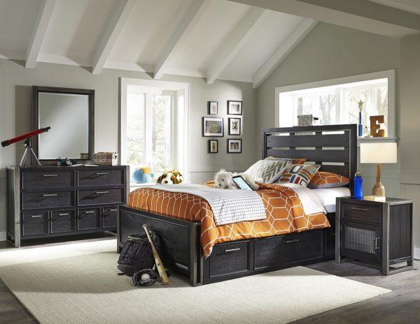 Graphite Bedroom Set-0