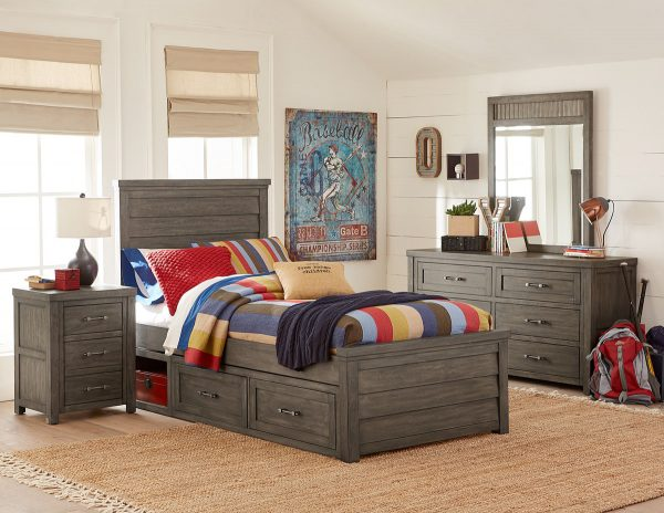 Legacy Classic Bunkhouse Twin Storage Bed-0